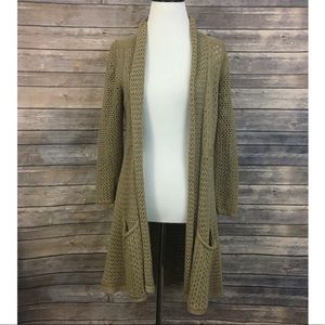 Anthropologie Angel Of The North Matinee Cardigan